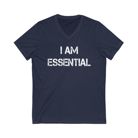 I am Essential | Unisex V-Neck Tee