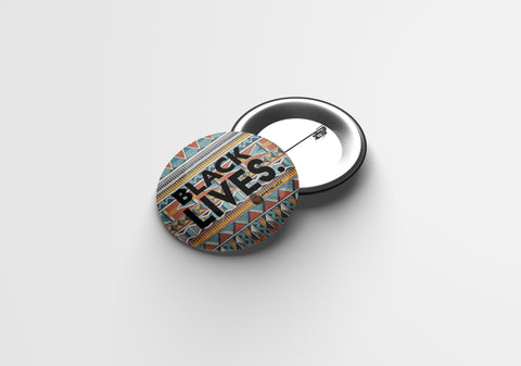 Black Lives. | Pin Buttons