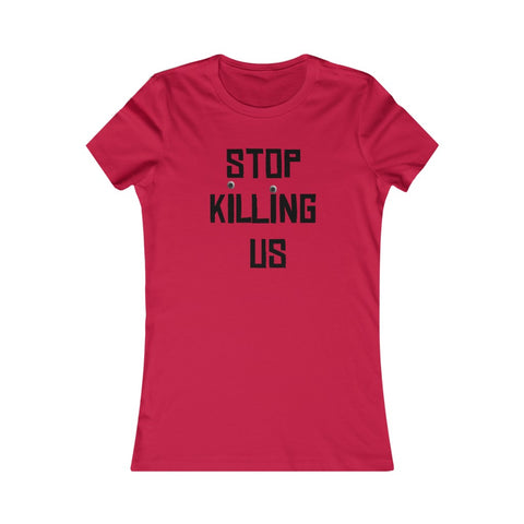 STOP | Women's Cotton Tee