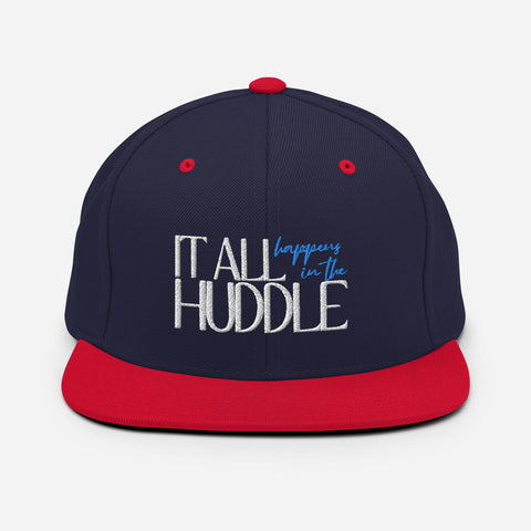 In the Huddle | Snapback Hat
