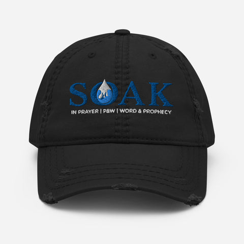 Soak Ministries | Distressed Dad Hat