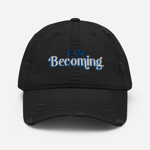 I am Becoming - Soak Ministries | Distressed Dad Hat