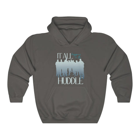 In the Huddle - Soak Ministries | Hooded Sweatshirt