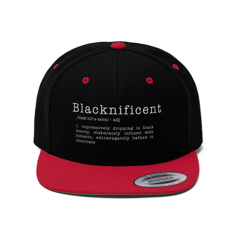 Blacknificent /adj/  | Flat Bill Hat