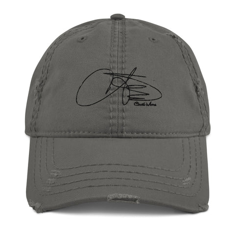 Signature - Chanté Moore | Distressed Dad Hat