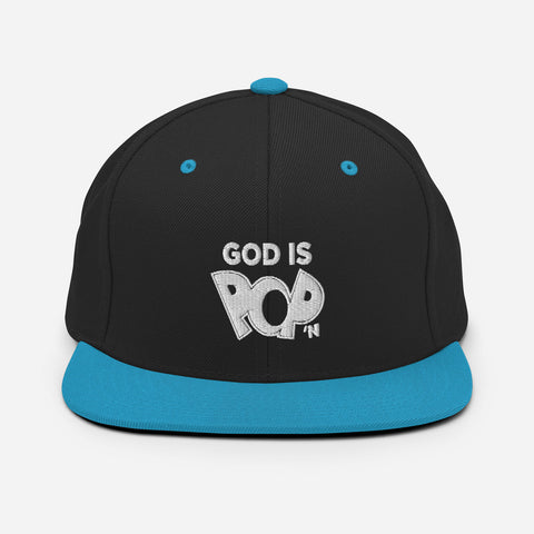 God is Pop'n  |  Flat Bill Hat