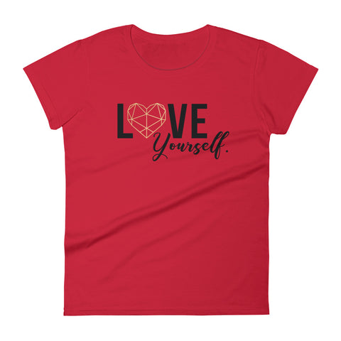 Love Yourself  |  Women's Cotton Tee