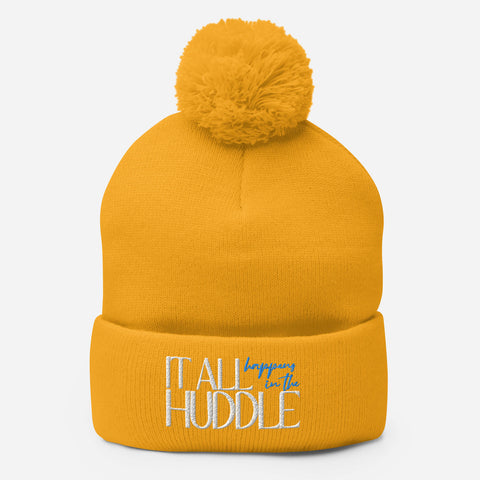 In the Huddle - Soak Ministries | Pom-Pom Beanie