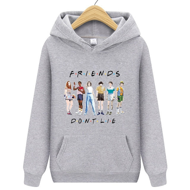 Stranger Things Hoodie: Friends Dont Lie