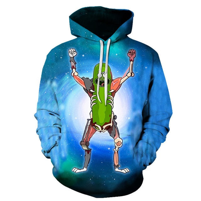 Rick and Morty Hoodie: All Ricked Up