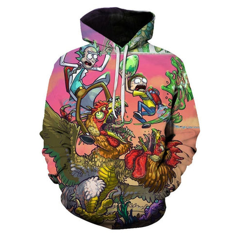 Rick and Morty Hoodie: Fear