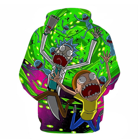Rick and Morty Hoodie: Escape
