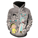 Rick and Morty Hoodie: Trippy Rick