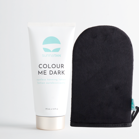 Colour Me Dark | Natural Self Tanner & Tanning Mitt Online