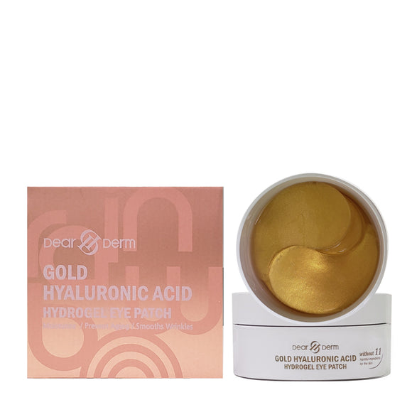 DEAR DERM. Gold Hyaluronic Acid Hydrogel Eye Patch Online (60 PATCHES)