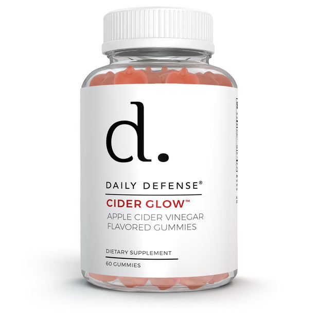 CIDER GLOW™ ORGANIC APPLE CIDER GUMMIES LOSE WEIGHT