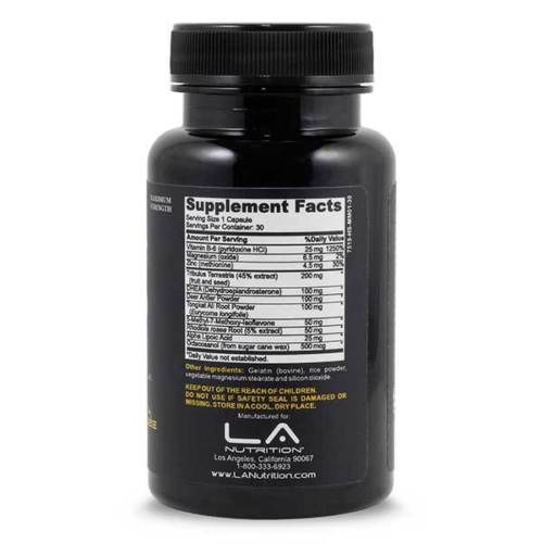 Testosterone Booster Bodybuilding Formula Testo Amp with Deer Antler