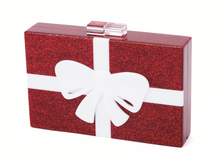 "Load image into Gallery viewer, ""Wrapped with a Bow"" Clutch"