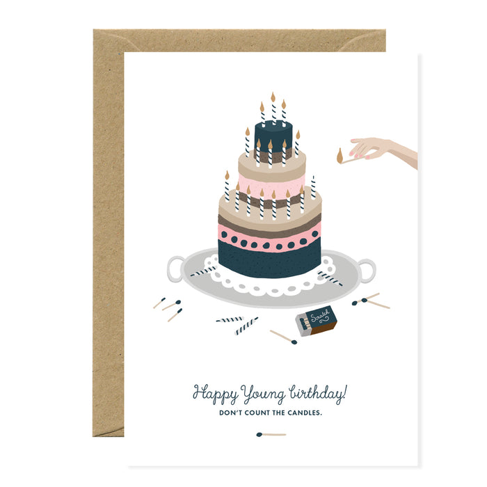 Happy Young Birthday Card - All The Ways To Say