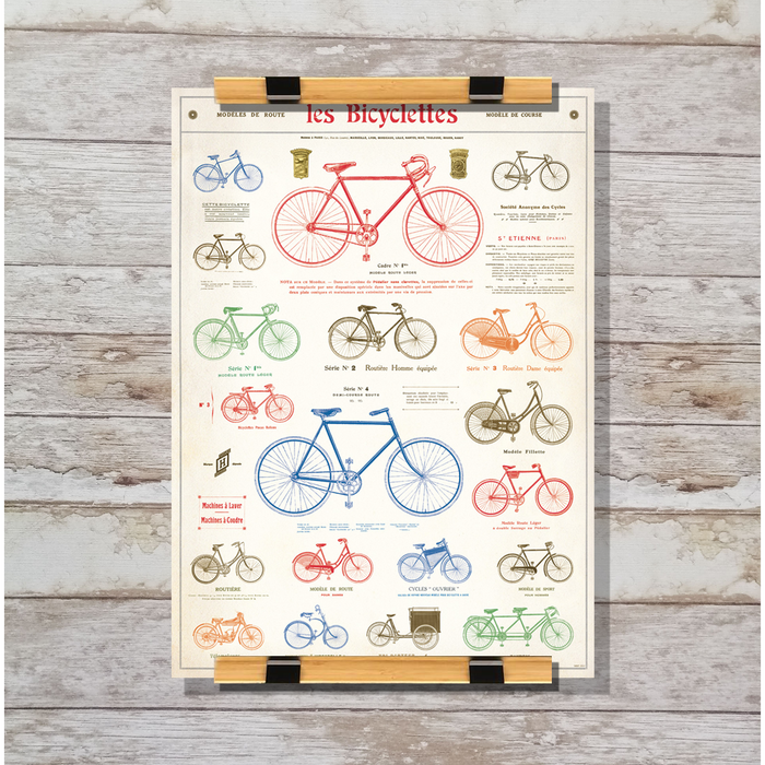 Cavallini & Co. Les Bicyclettes Decorative Wrap