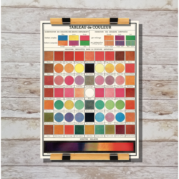 Cavallini & Co. Color Chart Decorative Wrap