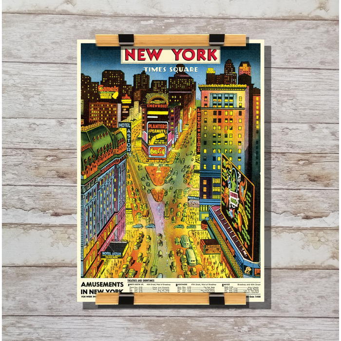 Cavallini & Co. New York Times Square Decorative Wrap