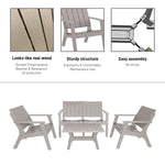 ENZO 4 Piece Patio Sofa Seating Set