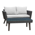 KOTKA 4 Piece Sofa Seating Set With Cushions
