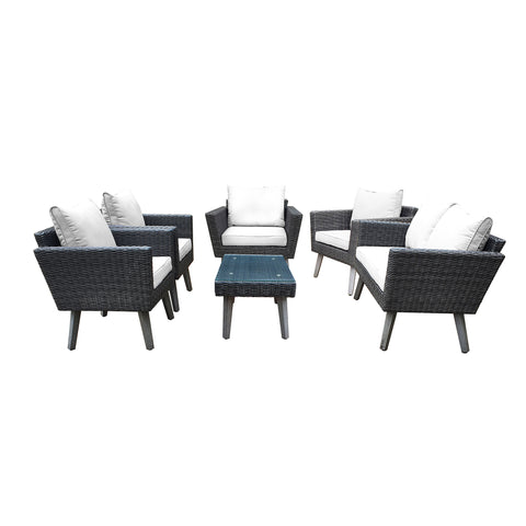 KOTKA 6 Piece Sofa Seating Set With Cushions