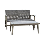 MONTEROSSO 2 Piece Sofa and Table Seating Set