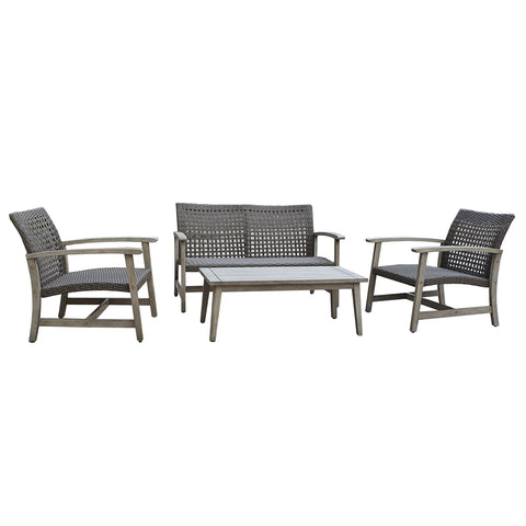 MONTEROSSO 4 Piece Sofa Seating Set