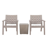 ENZO 3 Piece Conversation Seating Set