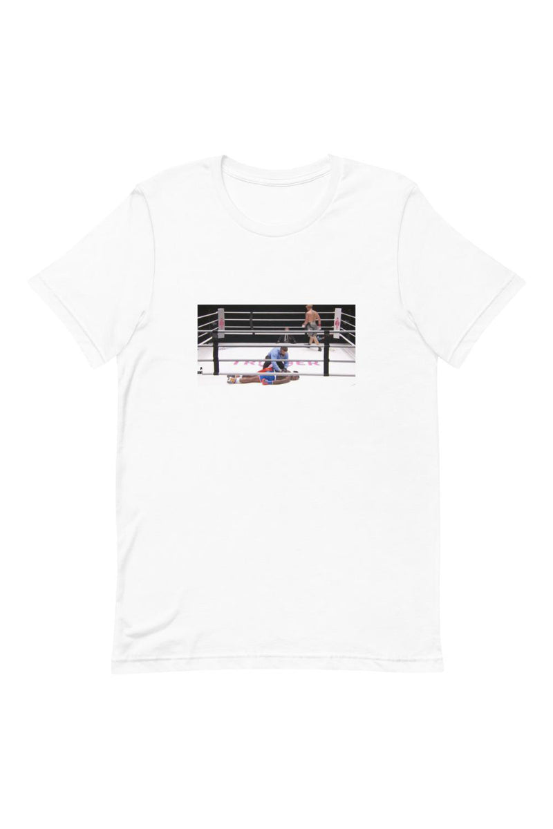 Knock Out White Shirt