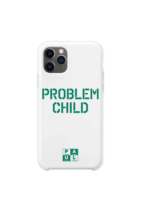Jake Paul: Problem Child White Phone Case