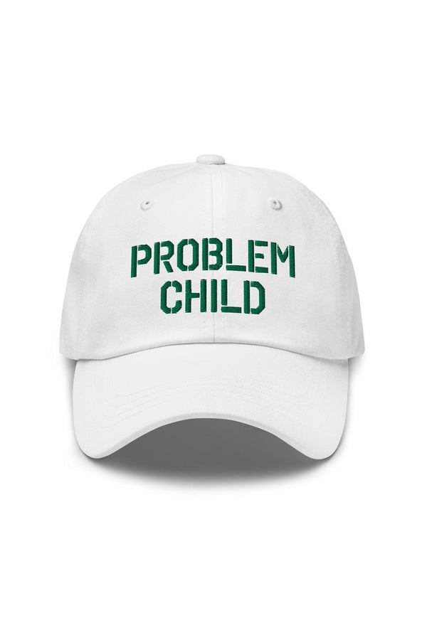 Problem Child White Dad hat
