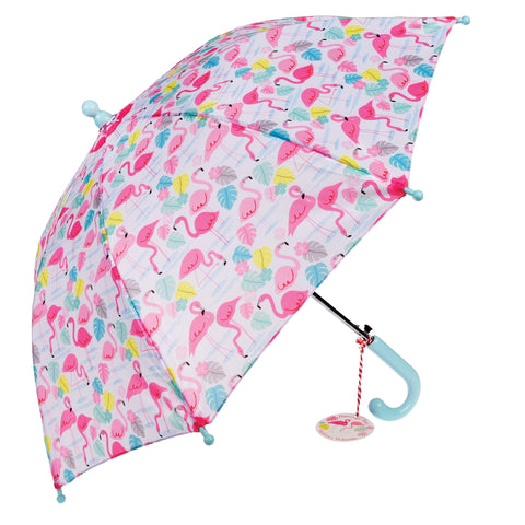 PARAPLUIE - FLAMANTS ROSES