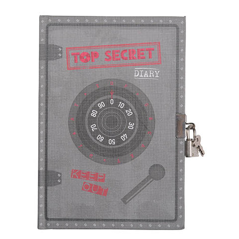 CARNET SECRET A5 ET CADENAS - COFFRE-FORT