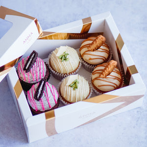 6 Cupcakes Box - Mixed