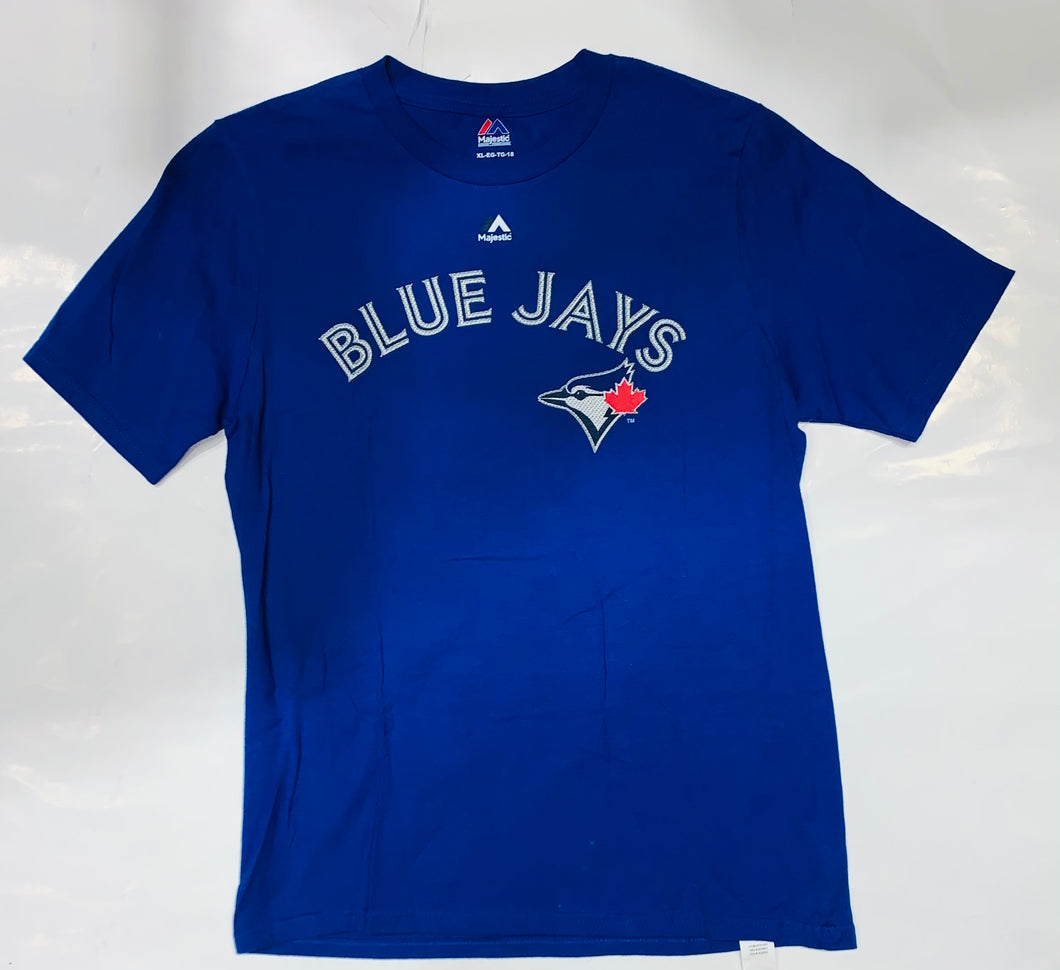 Youth Toronto Blue Jays Authentic Collection Majestic Tulowitzki Tee