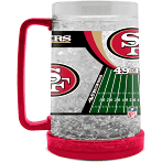 San Francisco 49ers Crystal Freezer Mug