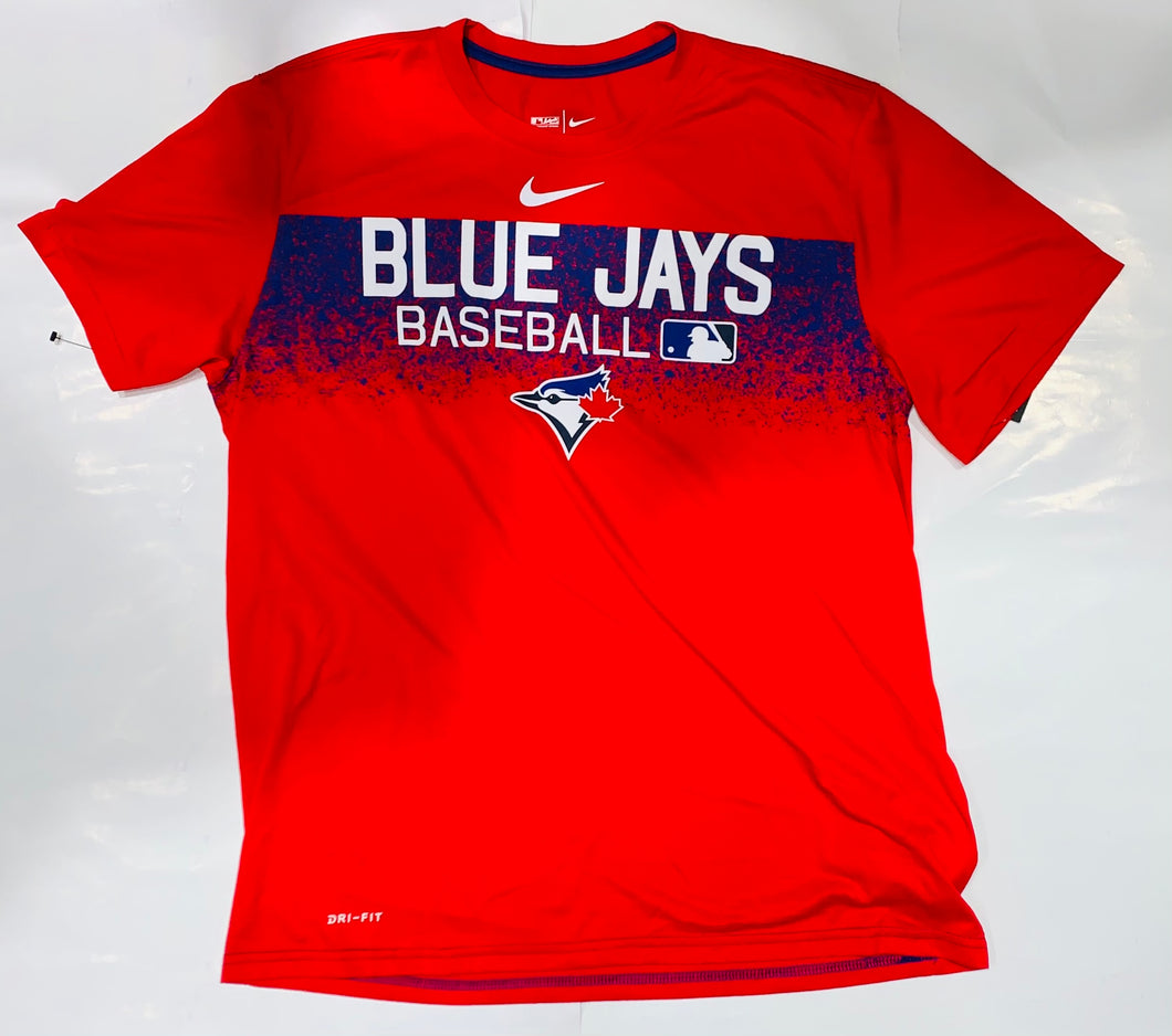 Toronto Blue Jays Authentic Collection Nike Red Dri-Fit Tee