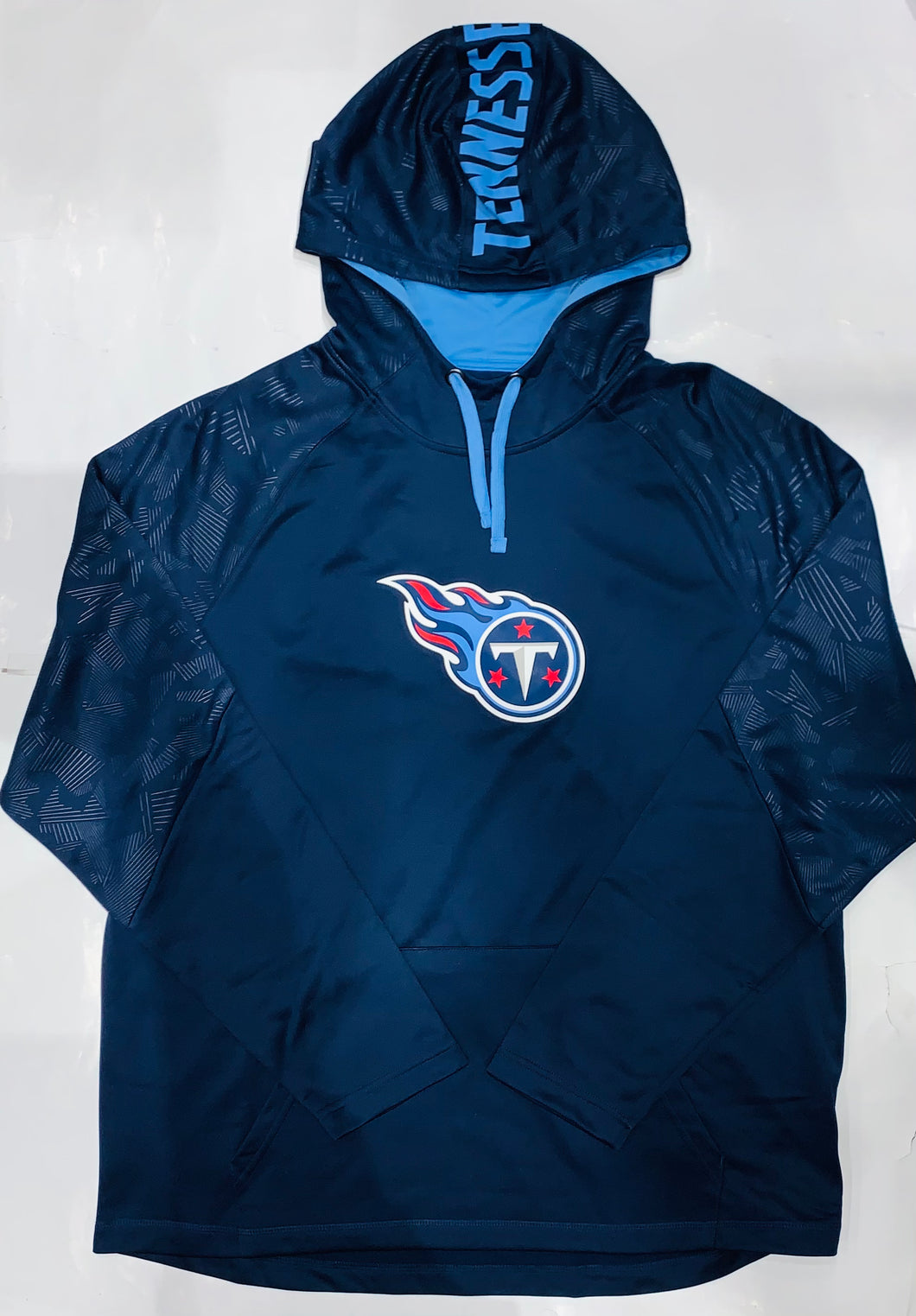 Tennessee Titans Fanatics Navy/Light Blue Pullover Hoodie