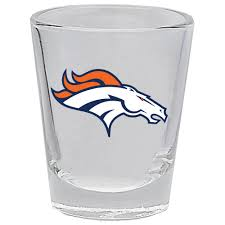 Denver Broncos Collector Shot Glass