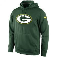 Green Bay Packers Logo Nike Therma-Fit Hoodie