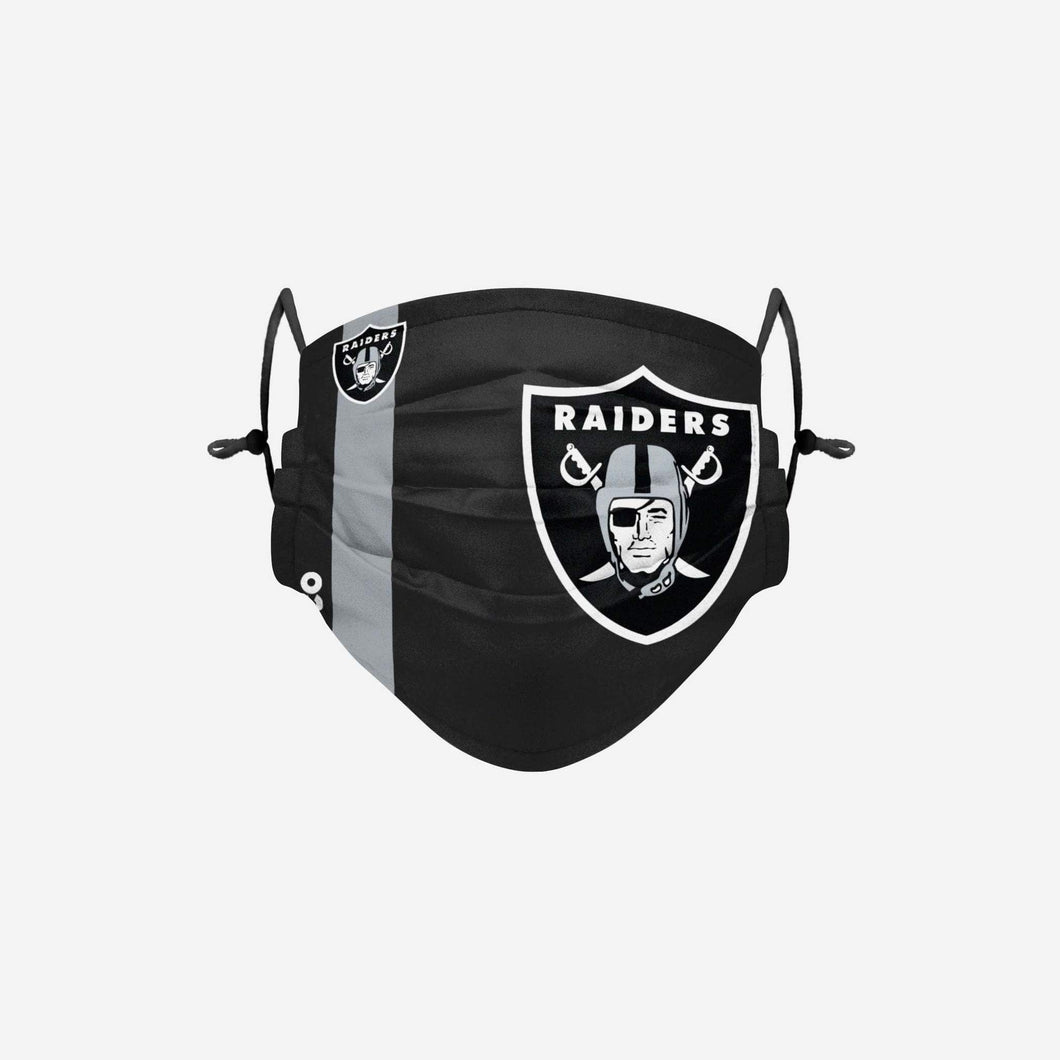Las Vegas Raiders NFL On Field Sideline Logo Face Mask