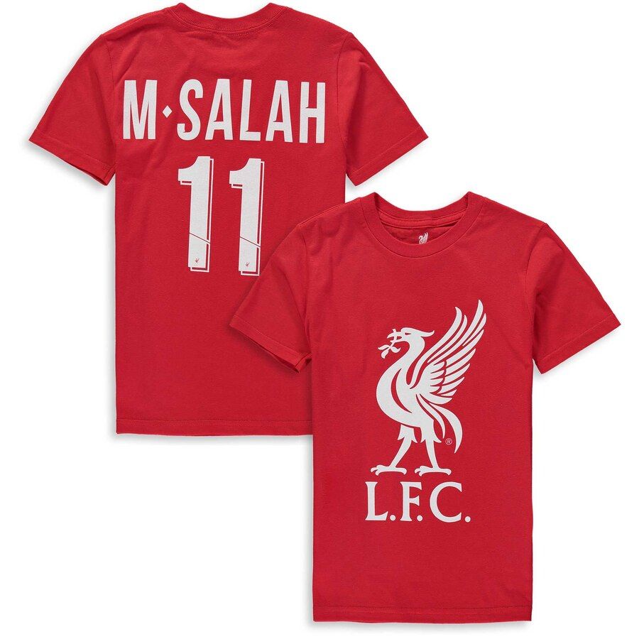 Youth Liverpool F.C.  Mohamed Salah T-shirt