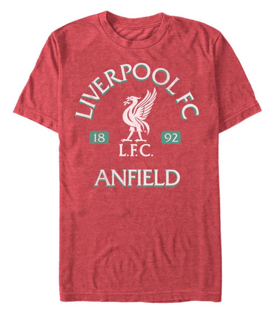 Men's Liverpool Football Club Anfield Logo T-Shirt