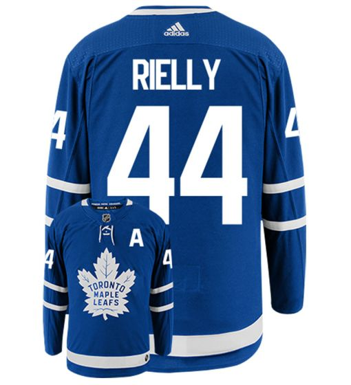 Authentic NHL Toronto Maple Leafs Adidas Morgan Rielly Jersey-Blue