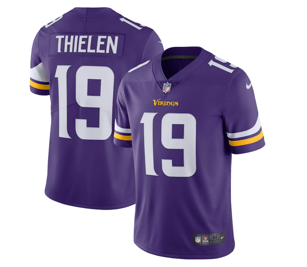 Men's Nike Adam Thielen Purple Minnesota Vikings Limited Jersey