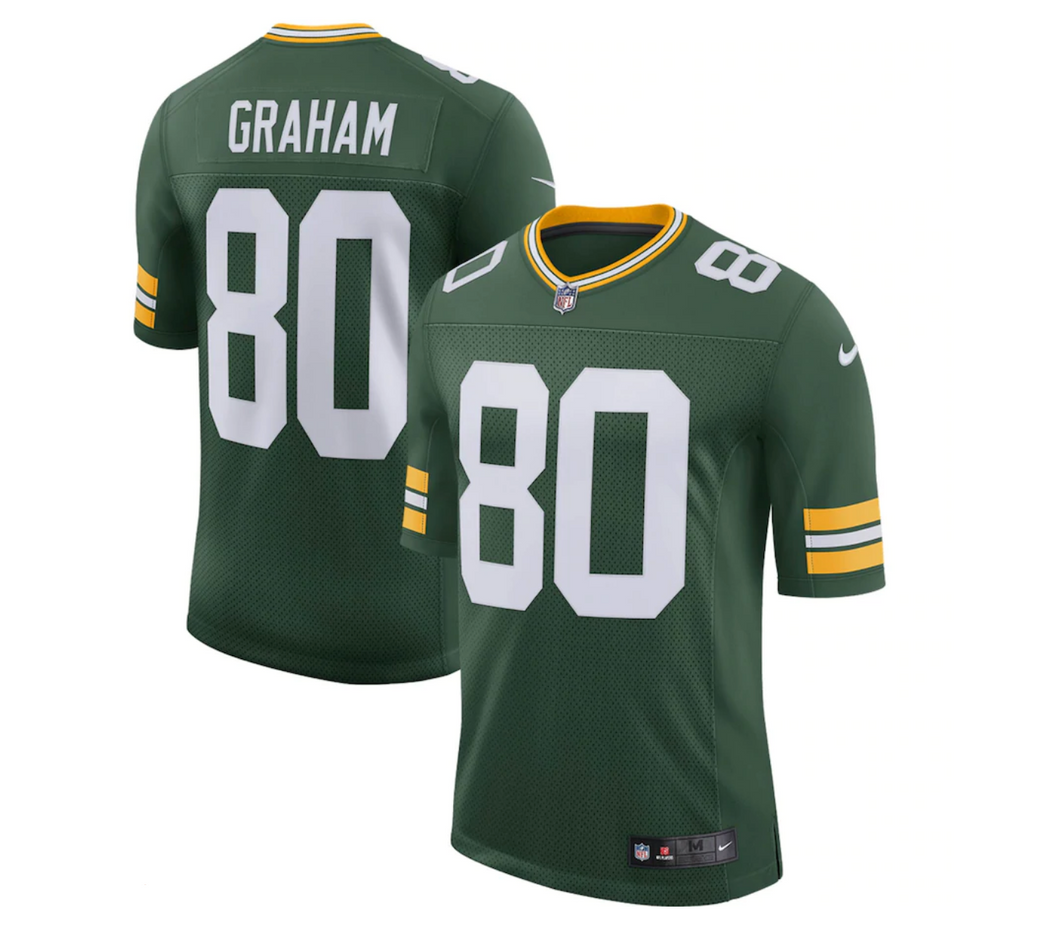 Men's Nike Jimmy Graham Green Green Bay Packers Limited Jersey